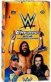 WWE Wrestling 2015 WWE Chrome Trading Card Box