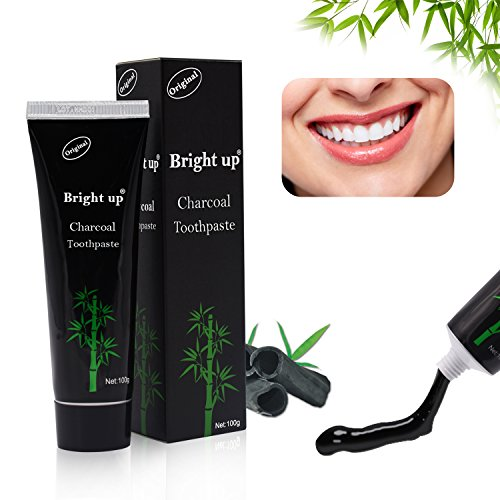 Large Product Image of Holisouse Teeth Whitening - Activated Charcoal Toothpaste Teeth Stains&Smoke Stains Remover Clean Bright Teeth and Keep Fresh(4 oz)