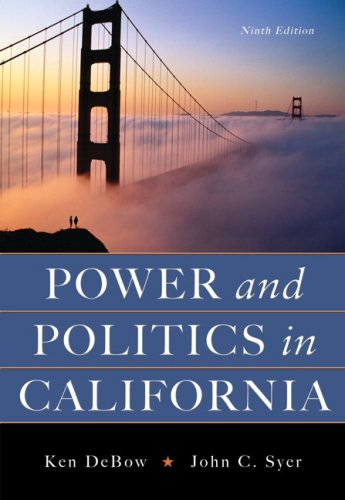 Power And Politics In California- (Value Pack w/MySearchLab) (9th Edition)