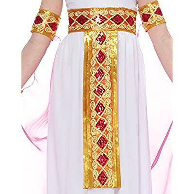 Pink Cleopatra Egyptian Queen Kids Costume: Clothing