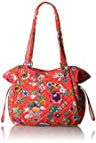 Vera Bradley Iconic Glenna Satchel - Signature, Coral Floral