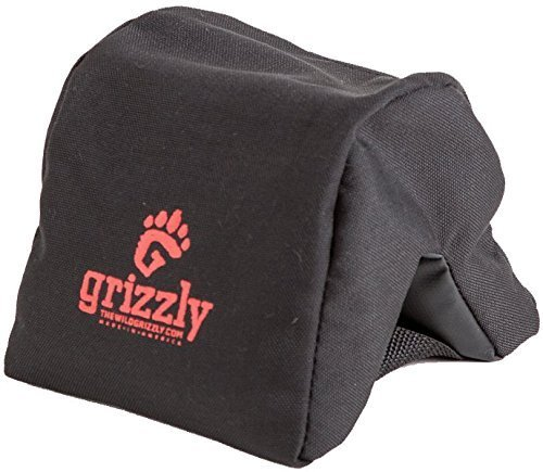 Grizzly Camera Bean Bag (Medium-Black), Photography Bean Bag, Video Bean Bag, Camera Support, Camera Sandbag, Camera Beanbag, Spotting Scope Support from Wild Grizzly Medium Camera Bean Bag - Black