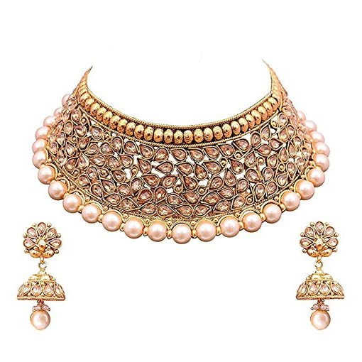 Valentine Gifts : Youbella Jewellery Gold Plated Traditional