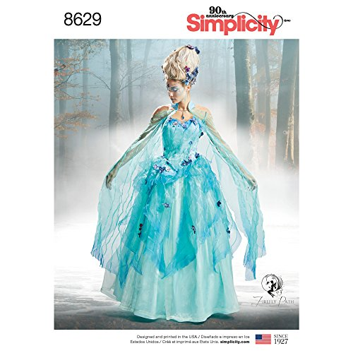 Simplicity 8629 Women's Fairy Halloween Costume Sewing Pattern, Sizes 14-22]()