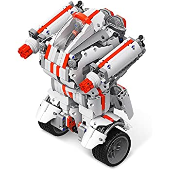 Mi Robot Builder Building Kit Remote Control Toy Programmable Coding (US Version with Warranty)