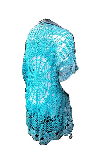 Sara Karls Crochet Jacket No 2 by ThePatternFactory