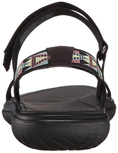 Women's Nova Teva Multi Black and Black Float Mbmt Outdoor Mosaic Lifestyle Terra Sports Sandal RdwtqBw