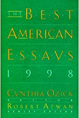 The Best American Essays 1998 Hardcover