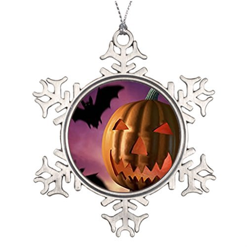 - Metal Ornaments Halloween Witches Personalised Christmas Tree Decoration Making Christmas Snowflake Ornaments