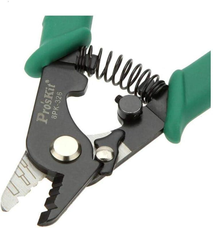 Hole Fibre Optique D/écapant 8p-326 Ftth Fiber D/écapant Fil BYFRI Proskit 8p-326 Pince Fibre Pince /À D/énuder 8p-326