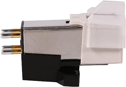 Giradischi - Fonógrafo con aguja magnética y tornillos de fijación ...
