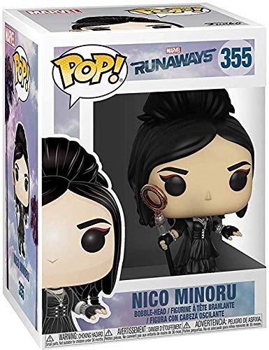 Funko Pop Bundled with Pop Box Protector Case Marvel: Runaways Nico Minoru Vinyl Figure