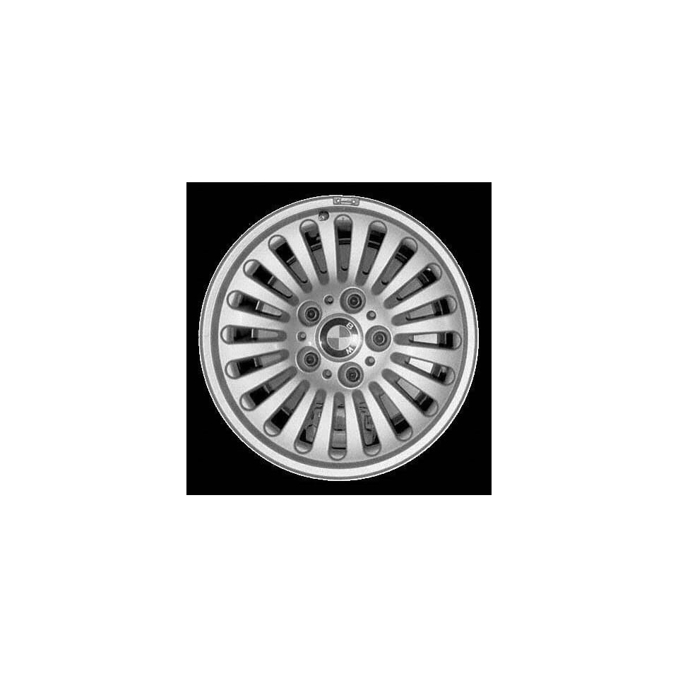 99 00 BMW 528IT 528 it ALLOY WHEEL RIM 16 INCH, Diameter 16, Width 7 (20 SLOT), 20mm offset Style #33, SILVER, 1 Piece Only, Remanufactured (1999 99 2000 00) ALY59253U10