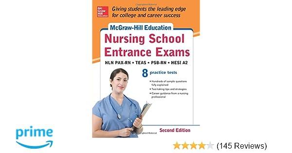 Mcgraw Hills Nursing School Entrance Exams Second Edition