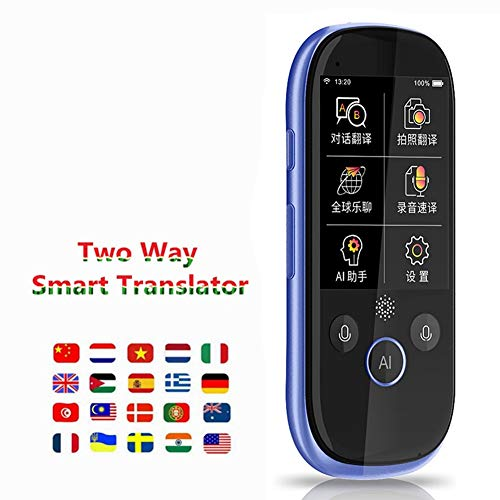 FUTN Portable Smart Language Translator Device, Handheld Intelligent Two-Way Real Time Multi-Language Voice Translator Simultaneous Interpreter Translation, for Travel Learning Business Meet from FUTN