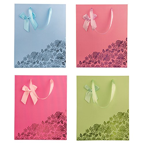 not Decorative Paper Gift Wrapping Bag Assorted Color - Medium - 12.5