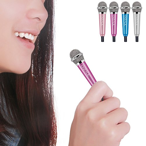 Mini Microphone,Dizaul Omnidirectional Stereo Mic for Voice Recording,Chatting for ()