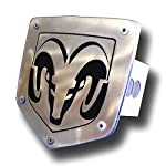 Dodge Ram Logo Laser Cut Trailer Tow Hitch Cover