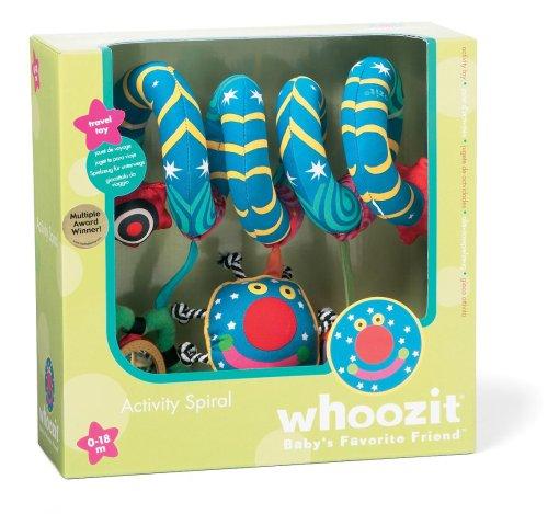 Manhattan Toy Whoozit Activity Spiral Stroller and Travel Activity Toy by Manhattan Toy (Image #1)