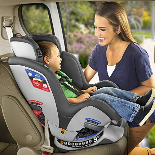51NAWfb4ARL - Chicco NextFit Sport Convertible Car Seat, Black
