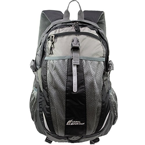 Camel Mountain - Hiking Backpack, Hydration Day Pack, Fits 13