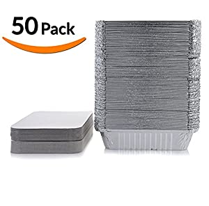 Amazon Com Dobi Takeout Pans Disposable Aluminum Foil