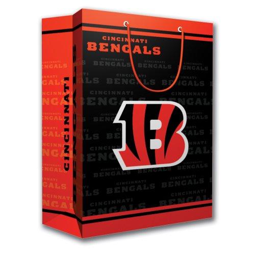 (NFL Cincinnati Bengals Gift Bag, Medium)