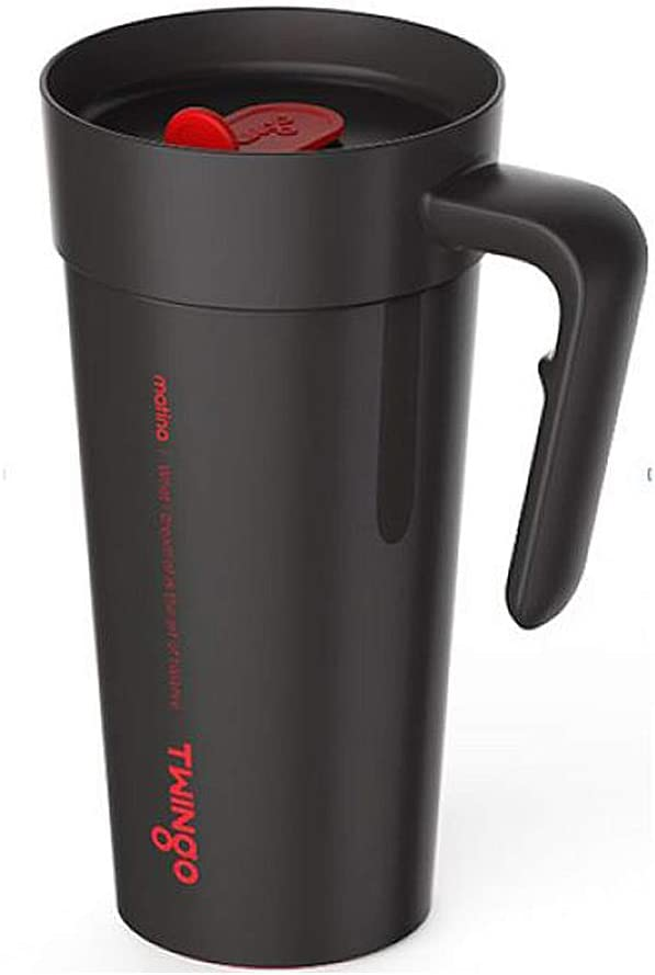 Twingo Insulated Stainless Steel Vacuum Tumbler 16oz (Black)
