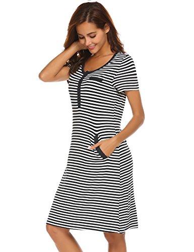 Maternit Notte Camicia da da Vestito UNibelle 167OXqxw