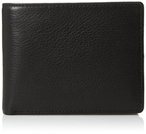Perry Ellis Men's Park Avenue Passcase Wallet, Black, One Size