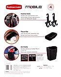 Rubbermaid Auto Mobile Vehicle Organization kit Black