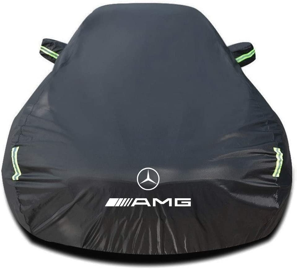Funda para coche Compatible con Mercedes-AMG GLA-Class AMG GLA 35 4Matic SUV/Tout-terrains 2020 2021[H247], Impermeable Cubierta para Coche Lona Coche, Interior/Exterior cubiertas de coche