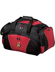 Cherrybrook Red Dog Breed Embroidered Duffel Bags (All Breeds)