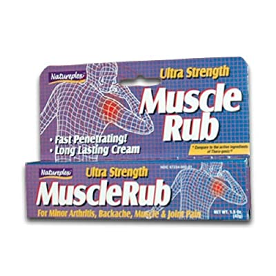Natureplex Muscle Rub (Ultra Strength) 3-Pack (1.5 oz ea.)