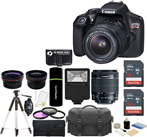 T6 Camera 18 55mm SanDisk Telephoto