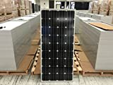 2x 165 Watt Solar Panel for Charging 12/24 Volt Battery, Off Grid Battery Charging, RV, Boat, High Efficiency! Made in USA!