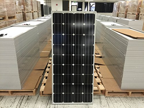 165 Watt Solar Panel for Charging 12 Volt Battery; RV, Boat, High Efficiency! Made in USA! Everbright Solar Inc. Solar Power And Accessories