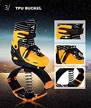 Instag Bouncing Shoes Bottes de Course Anti-gravit/é Fitness Bounce Chaussures dalimentation sautantes pour Enfants Adultes Unisexes