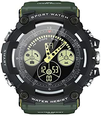 HYYQG Reloj Digital, PodóMetro MultifuncióN Sport Wristband IP68 ...