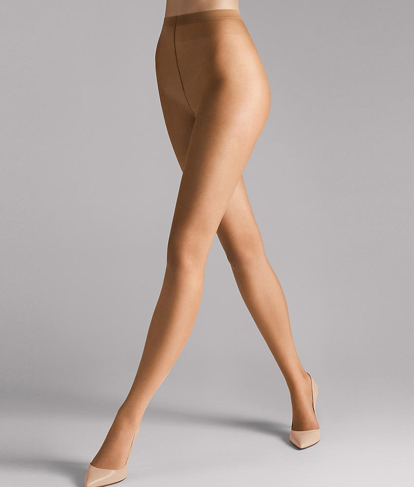 Wolford Naked 8 Denier Sheer Pantyhose, Medium, Suntan