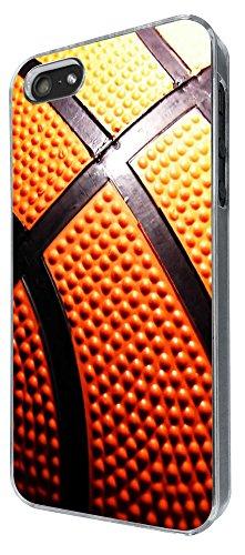 634 - Basketball Pattern Look Design iphone 5 5S Coque Fashion Trend Case Coque Protection Cover plastique et métal