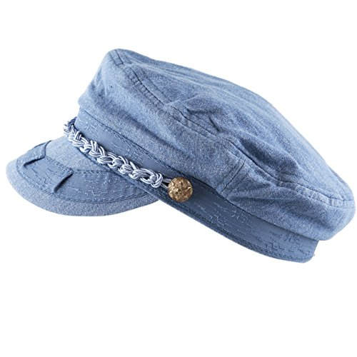 Denim Fisherman Cap