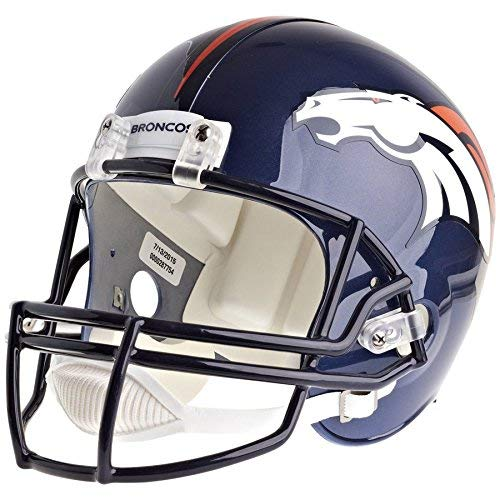 Denver Broncos Officially Licensed VSR4 Full Size Replica Football Helmet