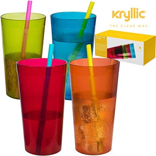 Plastic Tumblers Drinkware Glasses Cups