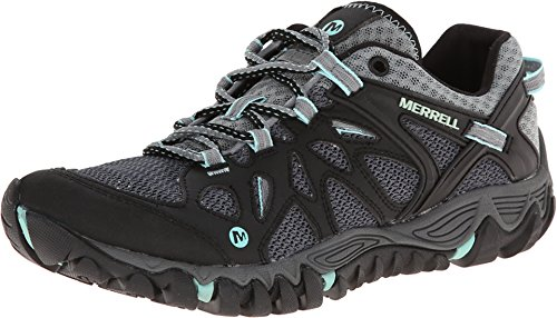 Merrell Women's All Out Blaze Aero Sport Hiking Water Shoe,Black/Aventurine,7.5 M US
