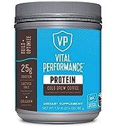 Vital Performance Protein Powder, 25g Lactose-Free Milk Protein Isolate Casein & Whey Blend, NSF ...