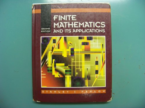 Finite Mathematics and Its Applications