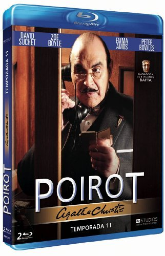Agatha Christie's Poirot (Season 11) - 2-Disc Set ( Agatha Christie's Poirot - Season Eleven ) [ Blu-Ray, Reg.A/B/C Import - Spain ]