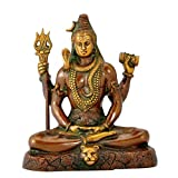 Gangesindia Yogiraj Lord Shiva - Brass Statue
