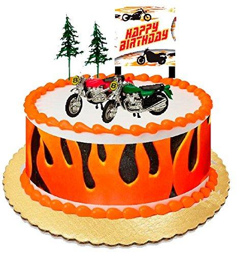 Fabulous Motorcycle Cake Toppers Shop Motorcycle Cake Toppers Online Funny Birthday Cards Online Elaedamsfinfo